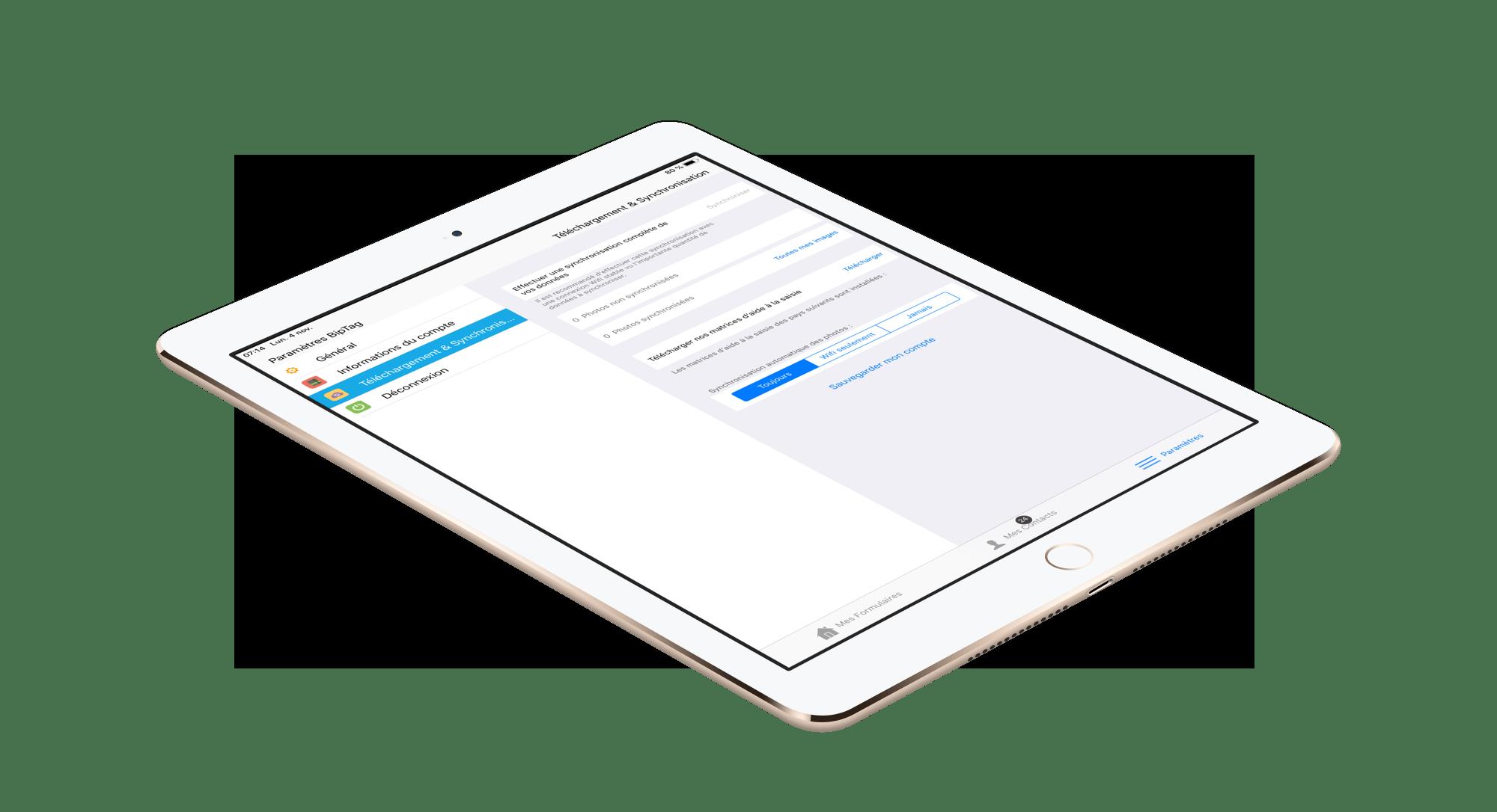 Simplifiez encore votre utilisation avec notre application Mobile, la nouvelle version est bientôt disponible